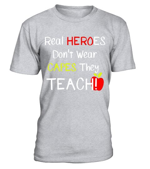 """# Real HEROES Don't Wear CAPES They TEACH! Student Teacher Tee .  Special Offer, not available in shops      Comes in a variety of styles and colours      Buy yours now before it is too late!      Secured payment via Visa / Mastercard / Amex / PayPal      How to place an order            Choose the model from the drop-down menu      Click on """"Buy it now""""      Choose the size and the quantity      Add your delivery address and bank details      And that's it!      Tags: Super and Trendy Tee…"""