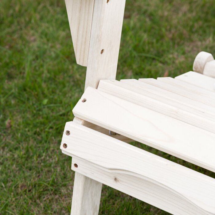 Wondrous Cuyler Solid Wood Folding Adirondack Chair Foldable Caraccident5 Cool Chair Designs And Ideas Caraccident5Info