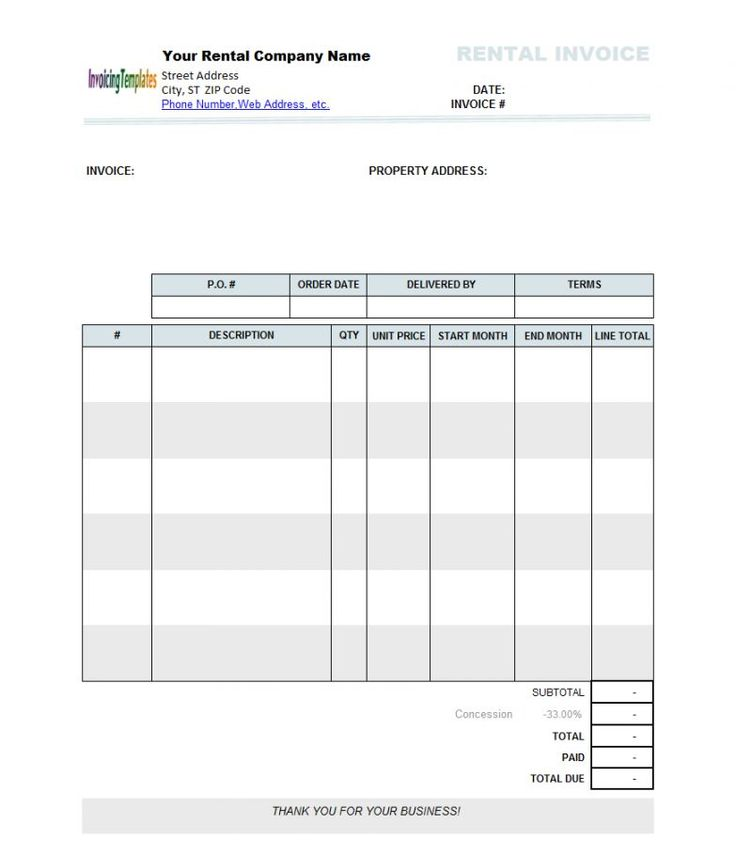 Medical Invoice Template Word  BesikEightyCo