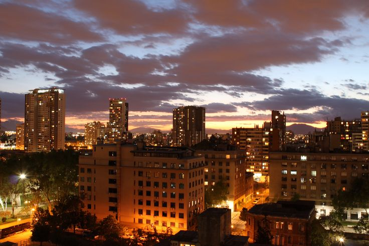 Una vista de Santiago desde mi ventana