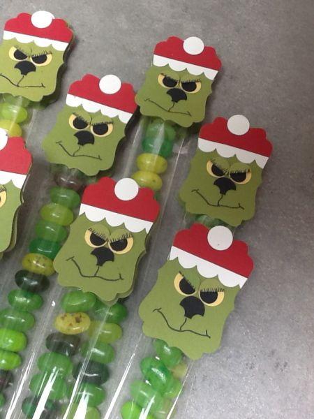 Stampin' Up! Santa Punch Art: The Grinch!