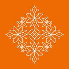 simple kolam designs without dots - Google Search