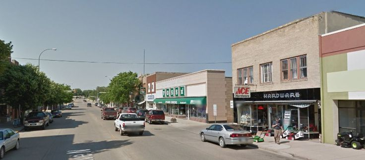 Downtown Valley City ND