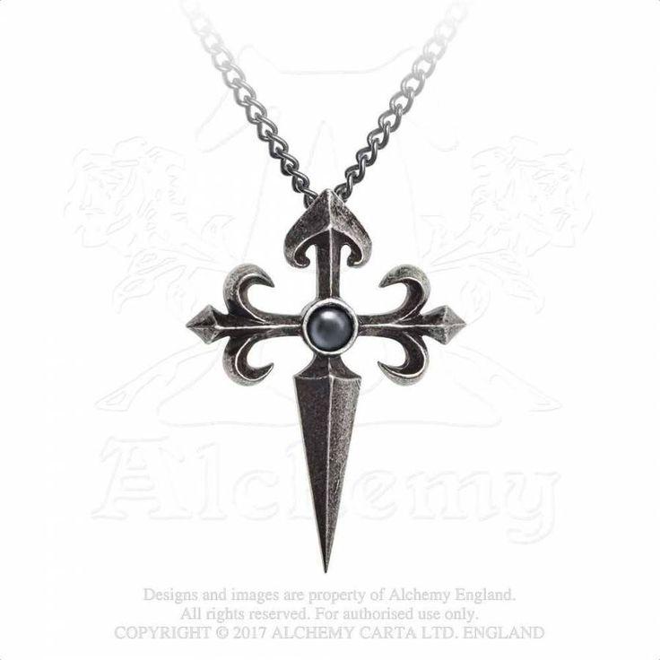 Alchemy Gothic Kette mit Kreuz - Santiago Cross | VOODOOMANIACS