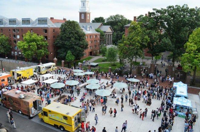 Harvard Plaza Food Truck