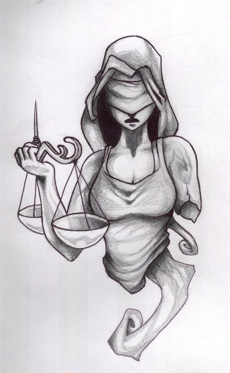 lady justice drawing - Google zoeken