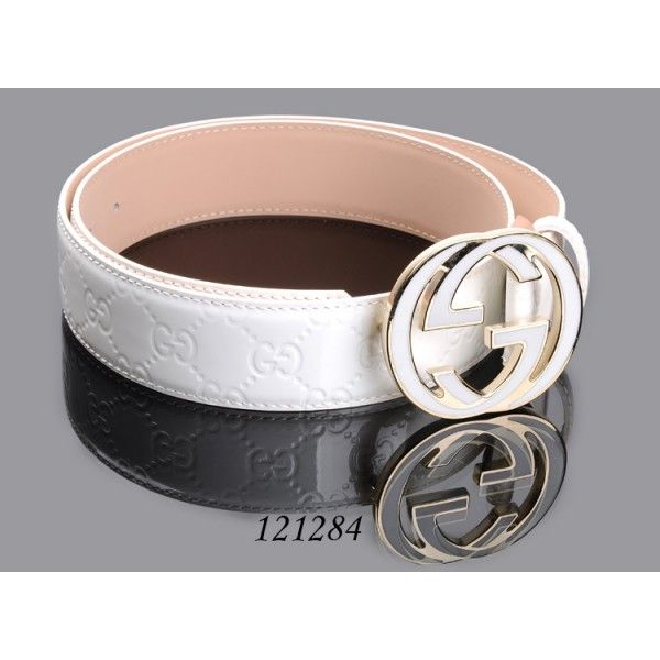 b6c631eb757 white gucci belts for men