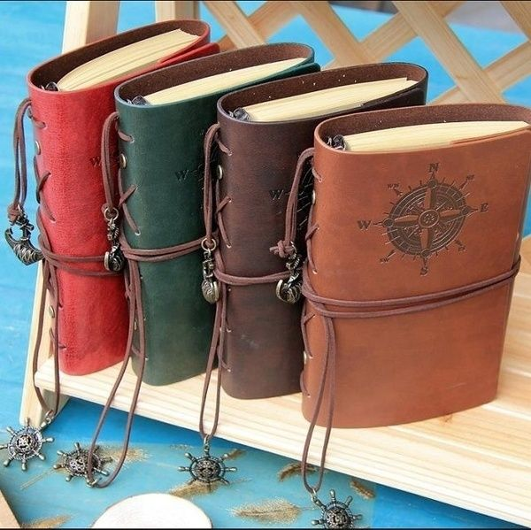 Brand New and High Quality  Cover Material: Leather Cover Hardness: Hard Copybook Style: Vintage Use