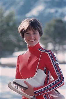Dorothy Hamill's Famous Wedge Haircut Photo Gallery: 1976 Olympic Figure Skating Champion Dorothy Hamill