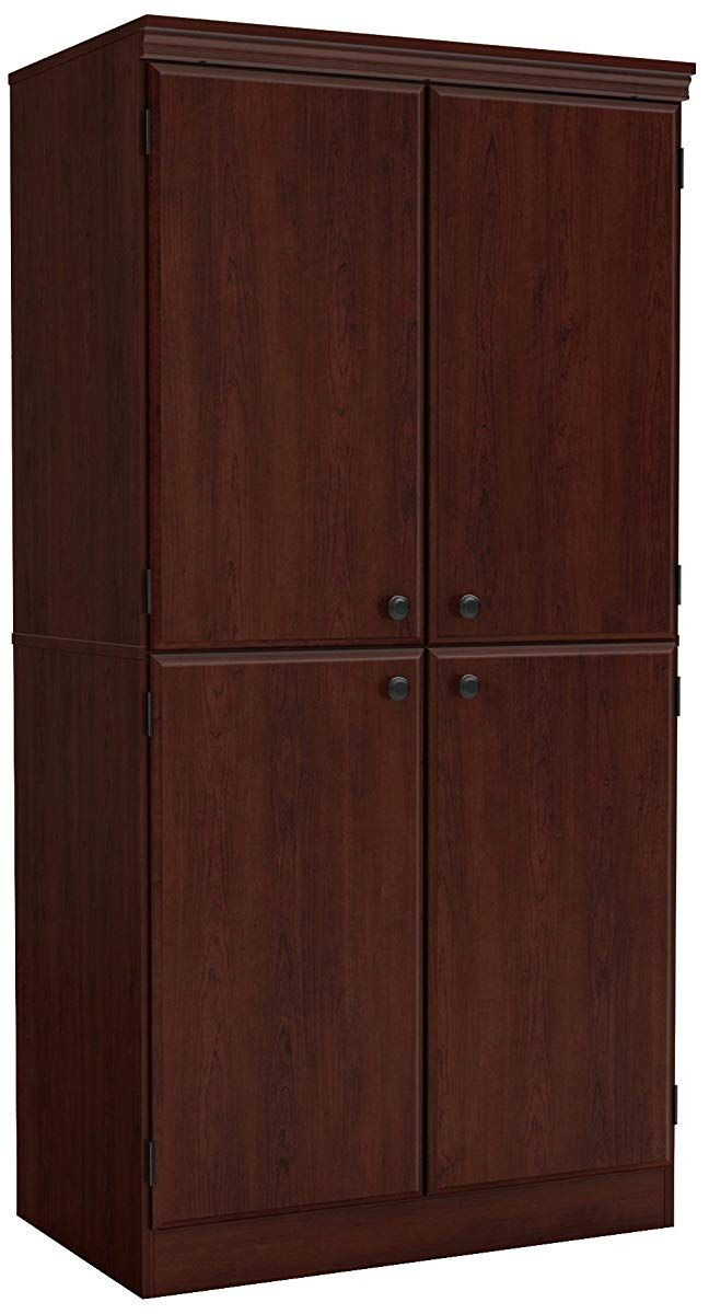 Tall Storage Cabinet Royal Cherry Storage Cabinets Pinterest