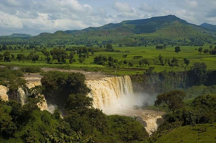 East Africa's Nilo Azul (Blue Nile)