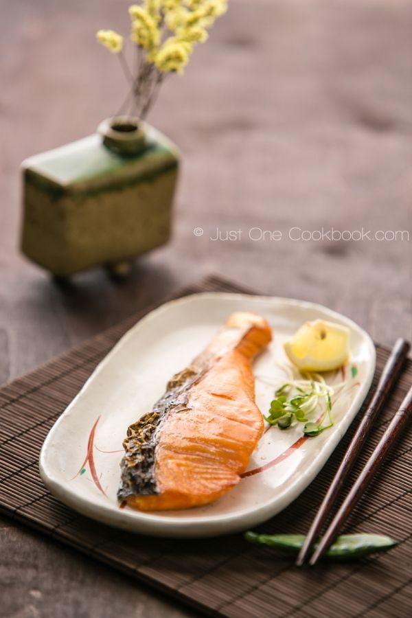 How To Prepare Salmon   Japanese Salted Salmon (Shiojake/Shiozake)   JustOneCookbook.com
