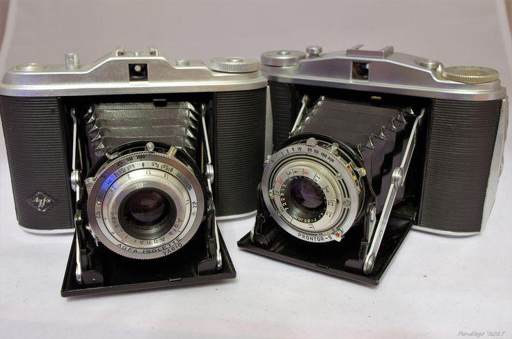 AGFA Isolette I & II (1950-1954) - 120 film, folding camera