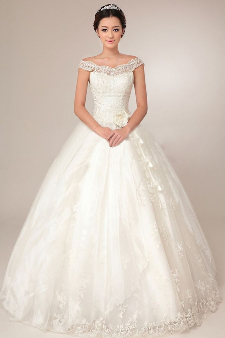 25 Best Ideas About Satin Wedding Gowns On Pinterest