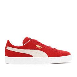 suede classics+ core wns - high risk red-white  | Flight Club