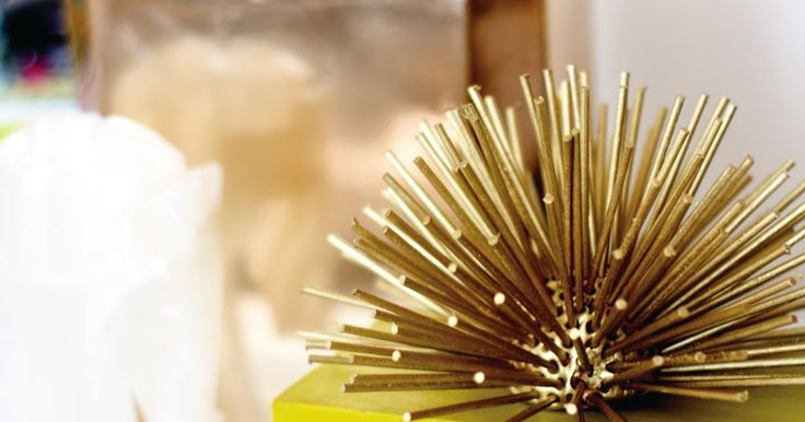 Brass Urchins (or starbursts), made popular by designers like Kelly Wearstler and Jonathan Adler, are part of the retro glam trend. T...
