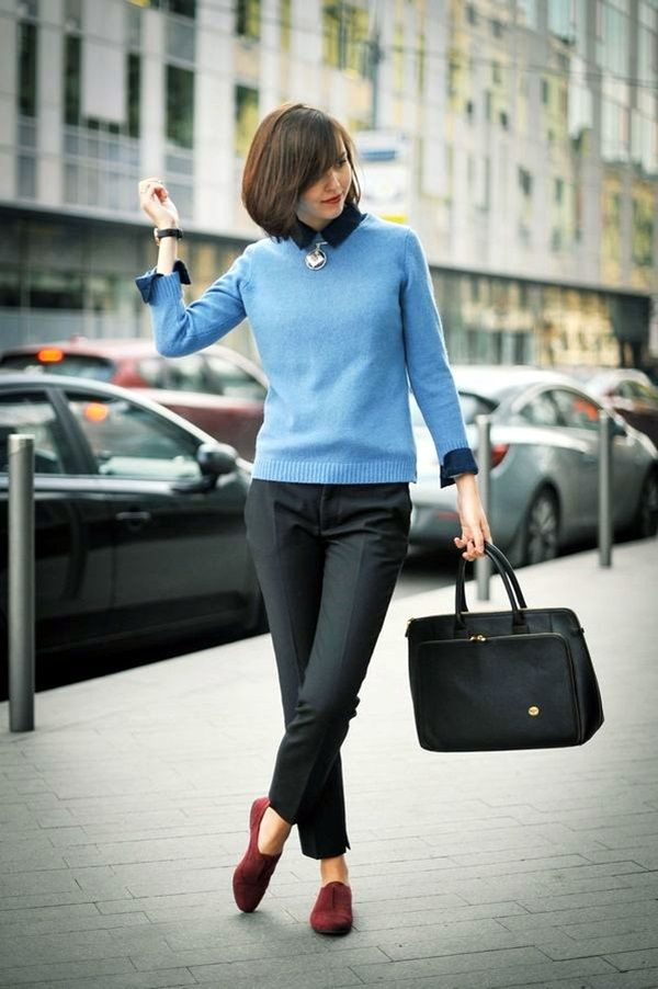 40 Decent Winter Work Outfits for Women   (To author of article title: don't try to get me excited about it or anything. I love being just average.)