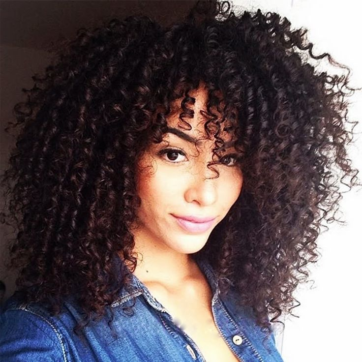 Kinky Curly Afro Wig Long Kinky Curly Wigs for Black Women Black Hair African Am…