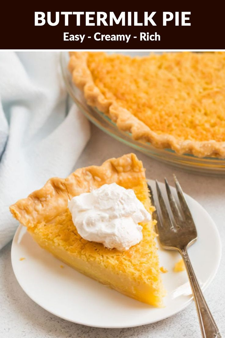 Buttermilk Pie Buttermilk Pie Sweet Potato Pie Southern Buttermilk Pie