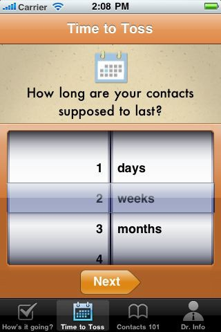 Have trouble remembering when to toss your contacts? Get this free eye-care app for iPhone
