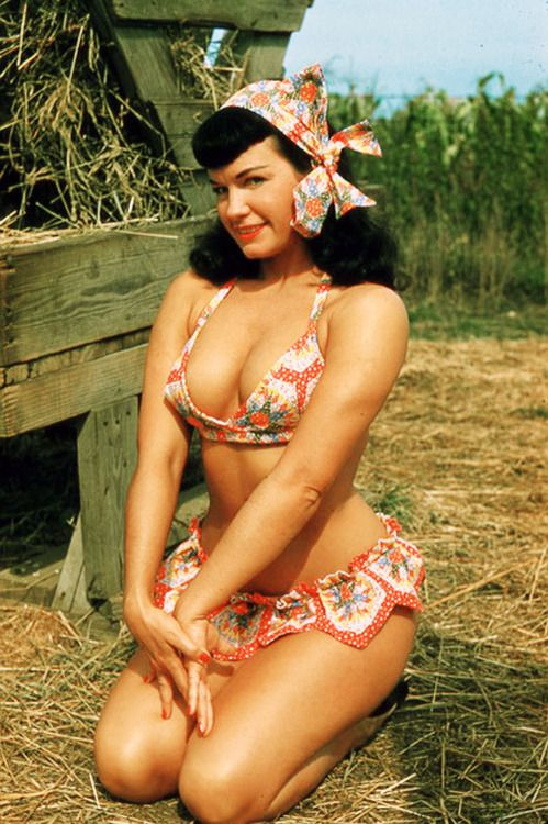Bettie Page photographed by Franklin Acker, 1957