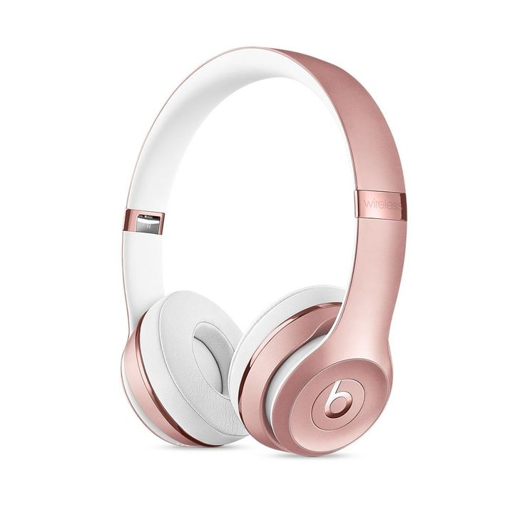 Beats by Dr. Dre Solo2 On-Ear Headphones - Rose Gold (Refurbished)