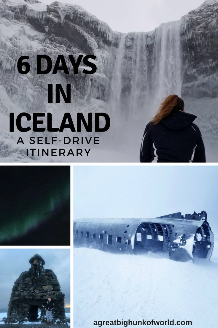 6 Days in Iceland | Iceland Self-Drive Itinerary | Winter in Iceland | #agbhow | www.agreatbighunkofworld.com