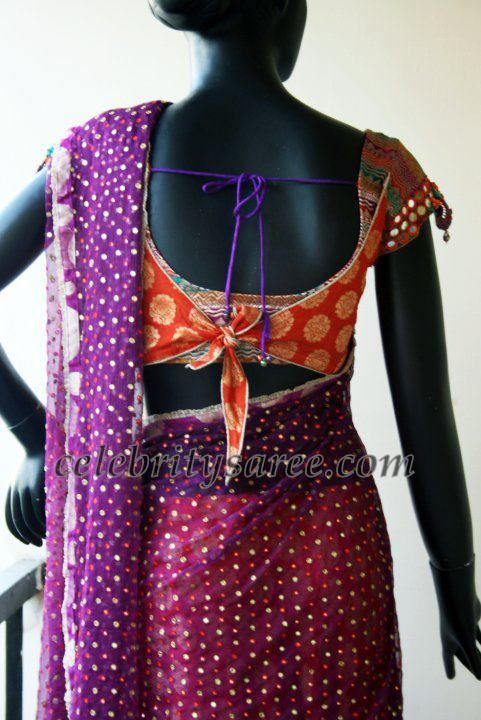 Saree Blouse Patterns: Designer Blouses