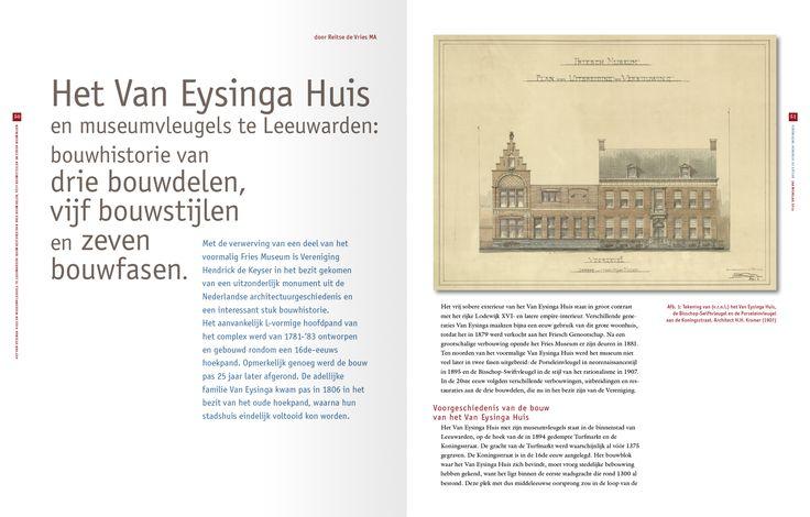 Spread annual report Vereniging Hendrick de Keyser