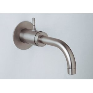 Rohl Modern Architectural Single Hole Lever Wall Mounted Fixed Spout