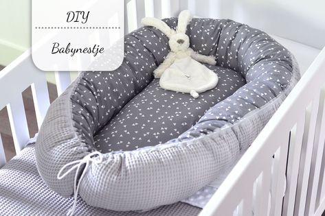 Ik besloot zelf een babynestje te maken en ben zo blij met het resultaat! In deze post leg ik uit hoe jullie dat ook kunnen doen!