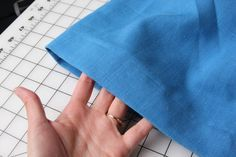 How to sew a blind hem on slacks... My husband had been bugging me for months to fix his pants...Now I can! :)