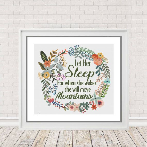 Cross Stitch Pattern Cross Stitch Chart  by PeppermintPurple