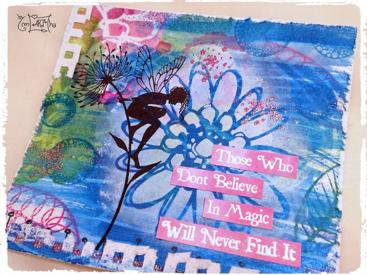 https://flic.kr/p/LRcz7Q | Another card with #stencilgirlproducts #laviniastamps…