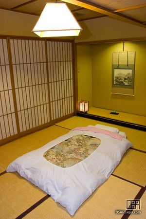 Futon Japanese Mattress Traditional Tatami Room