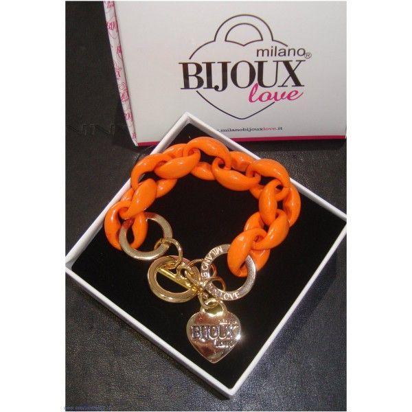 Milano Bijoux Love Bracciale arancione fashion http://www.gioiellivarlotta.it/product.php?id_product=1610