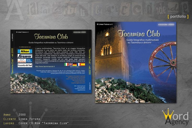 Taormina club - Cover Cd-rom