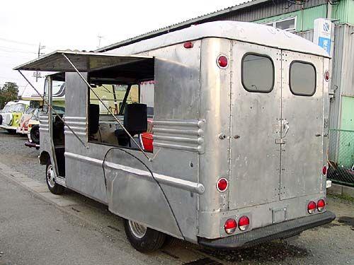 アメ車の移動販売車 キッチンカー 移動販売車 移動販売 キッチンカー