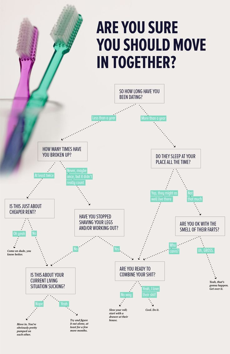 FLOWCHART: Should You Move In Together? - The Bold Italic - San Francisco