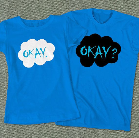 Couples Tees Okay Okay The Fault in Our Stars TShirt by ohcouples, $32.00