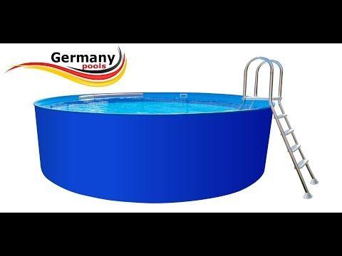 pools kaufen komplettset als bausatz zum selber bauen ohne beton platte freistehend pools. Black Bedroom Furniture Sets. Home Design Ideas