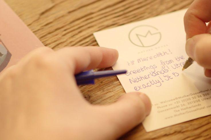 Postcrossing... Ontvang kaartjes uit de hele wereld...