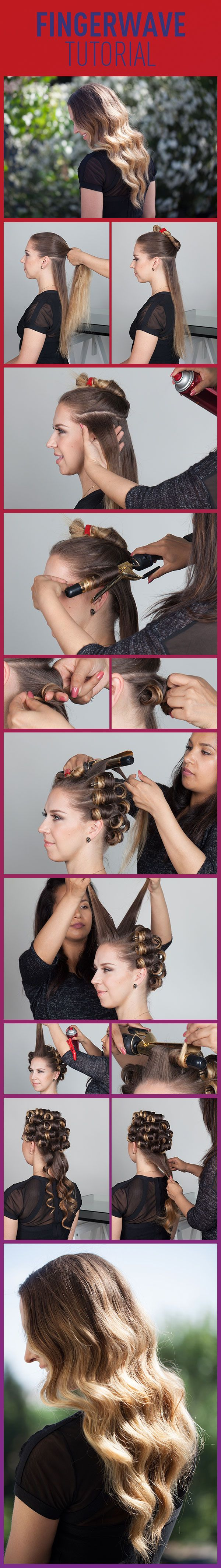 How To Finger Wave.