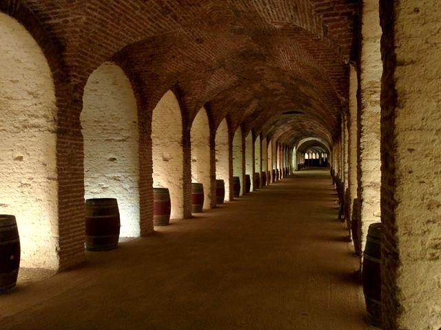 Galería Subterránea - Ramal Principal del Vino, ramal de casi medio kilómetro de longitud con 187 hornacinas a ambos lados de la galería