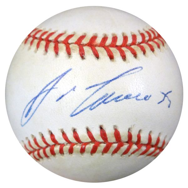 Jose Canseco Autographed Official AL Baseball A's, Yankees PSA/DNA #I16613