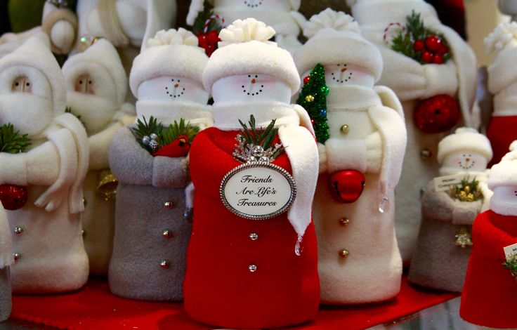 The Hearts & Ivy Collection is adored and selling fast at Compleat Lifestyles.  Our collection includes snowmen, santa and angels!