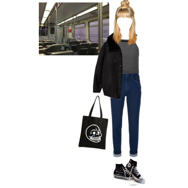 Untitled #118 by koniherz on Polyvore featuring Topshop, Acne Studios, Dolce&Gabbana, Converse and Cheap Monday