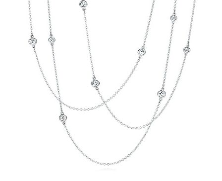 Tiffany & Co Diamonds by the Yard...and I do mean yard!