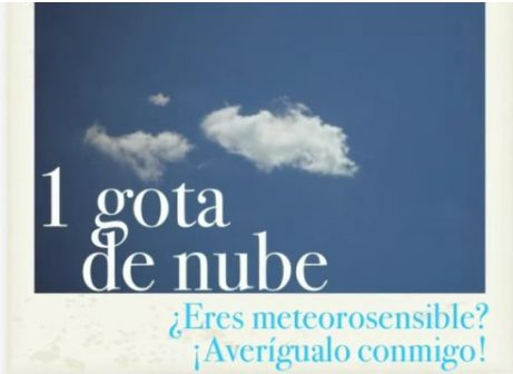 Primer videopost: eres meteorosensible? Descúbrelo conmigo!! www.4gotas.com