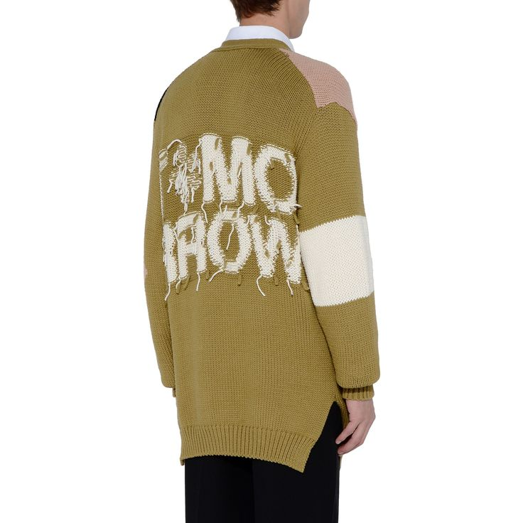 Shop the Olive Tomorrow Knit Cardigan by Stella Mccartney Men at the official online store. Discover all product information.